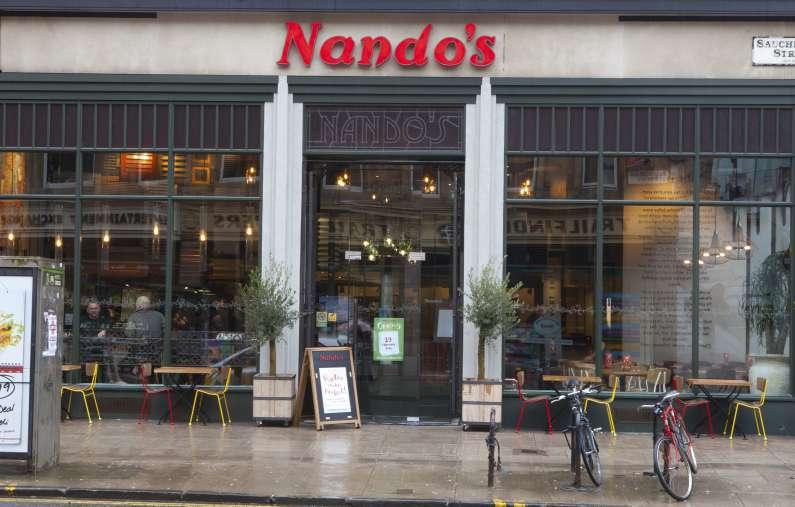 Nando s new restaurants firstplan